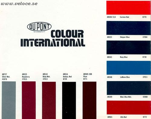 Dupont Automotive Paint Color Chips Dupont Paint Color Chart